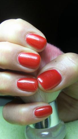 Short Red Nails Nail Art Gallery