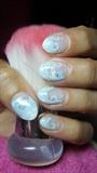 Nails with unicorn