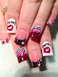 Valentine's Day Nails 2012