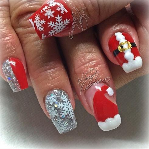 christmas nail art - Christmas Nail Art Gallery