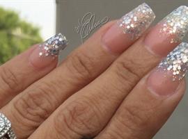 Sparkly Glitter Nails