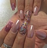 Mauve Color Nails