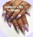 Glitter Nails