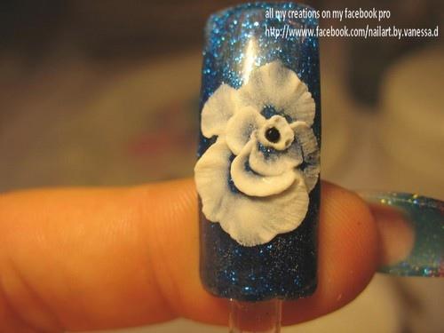blue rose- 3d