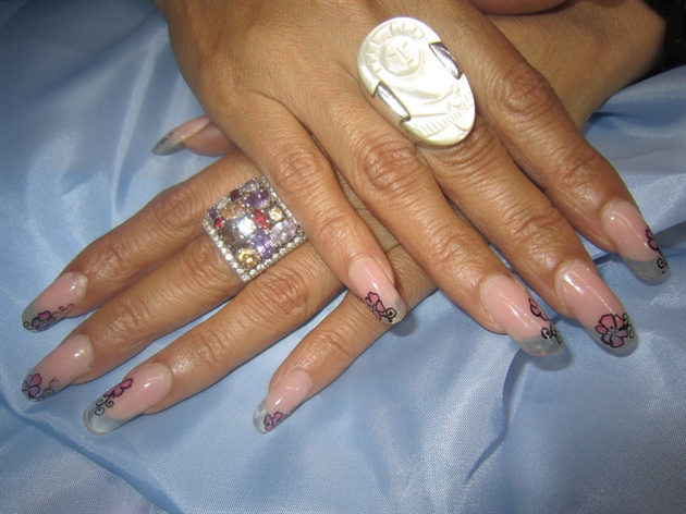 basic clear nail