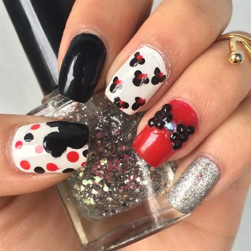 Mini Mouse Nails ✨🐭🎀