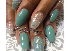 nail art: Mint