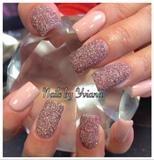 Pink Texture Glitter