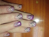 purple and pink tips