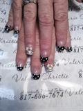 Polka dots, bows, zebra
