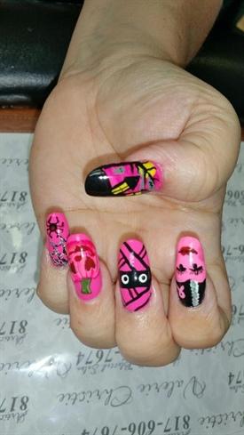 halloween breast cancer awareness