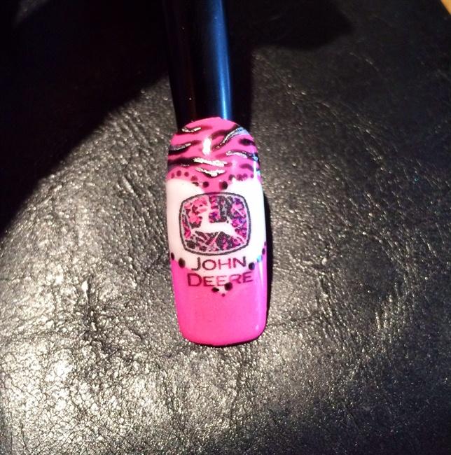 John Deere Country Girl Style - Nail Art Gallery