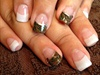 Camo  wedding nails