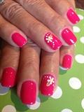 Pink & Daisy Gelish