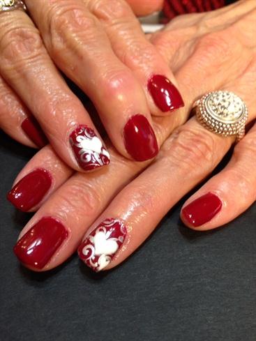 elegant valentine  nail art gallery