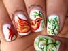 Creeper Bird Nails