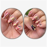 rayas de agua - Water marble lines