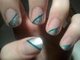 Silver short nails