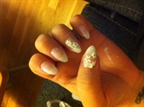 my first stiletto nails :)