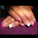 White,Pink