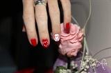 Decoración de uñas San Valentín