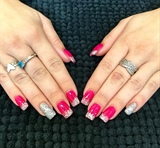 Love This Hot Pink Acrylic
