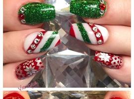 Christmas Nailart