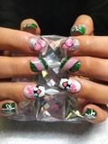 Pink And Green Christmas