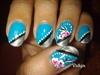 Blue - Floral