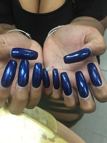 Nails Pierced
