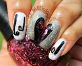 Nail Art July Day 16. GLITTER!! :3