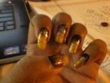 Galaxy Nail Art Design