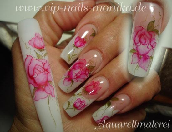 Roses, Aquarell