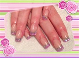 Sculpted Acrylic Glitter