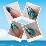 Ocean Theme Nails