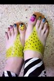Lady Bug Feet