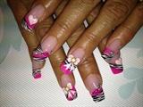 girly zebra