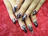 Halloween nails by Vivian