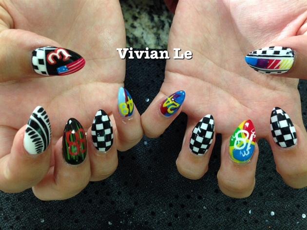 NASCAR - Nail Art Gallery