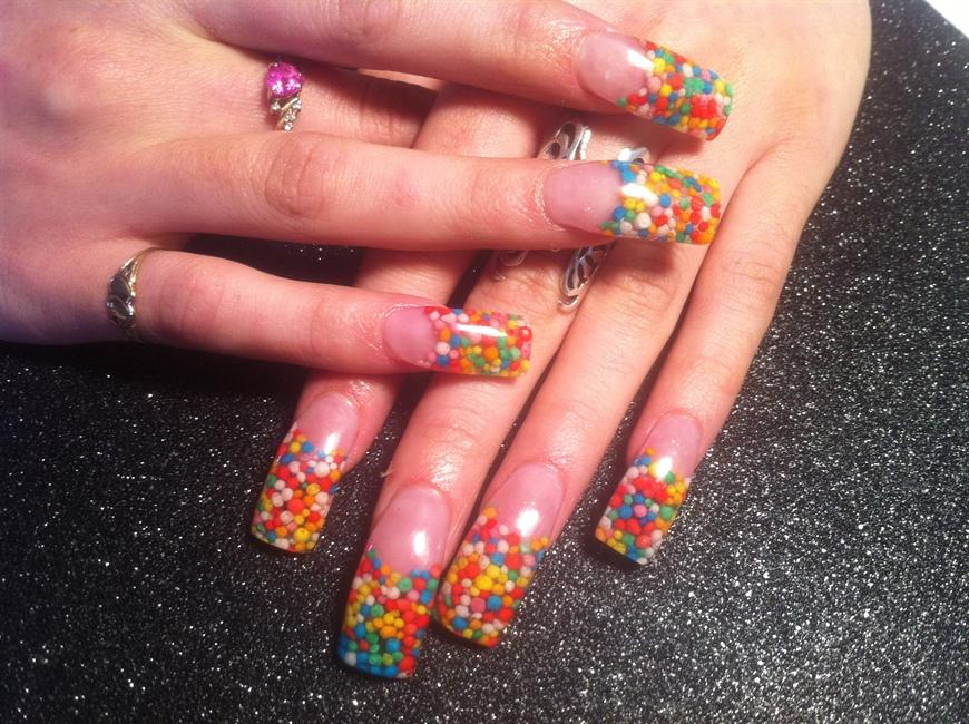 Full Set REAL Candy Nails! - Nail Art Gallery