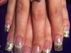 French/Glitter Fade
