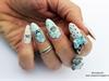 Me to You Tatty Teddy nail art 3D, 4D