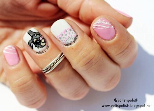 Disney nail art deisign