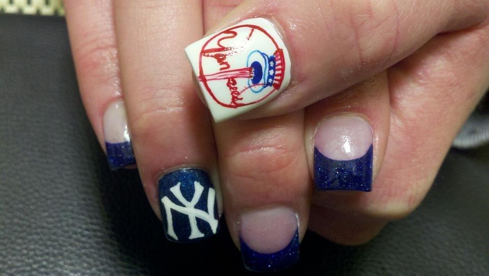 New York Yankees - Nail Art Gallery