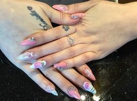 Lots of nail art