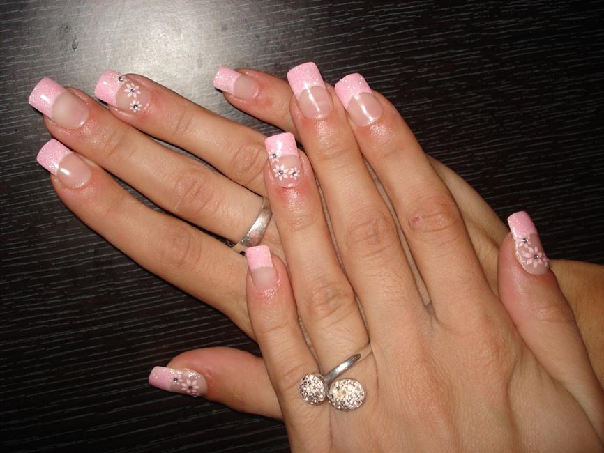 Fantastic Powder Nails Design Model - Nail Art Ideas - morihati.com