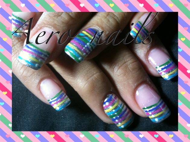 Rainbow stripes!