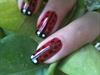 ladybug nail art...