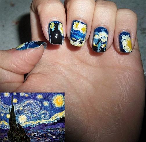 Starry Night Van Gogh inspired