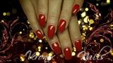 Red gel by Weronix Nails